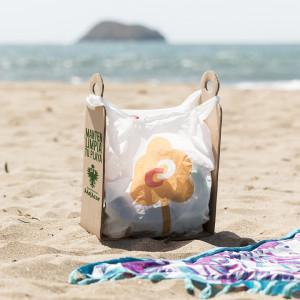 Trash Bag Holder Cart
