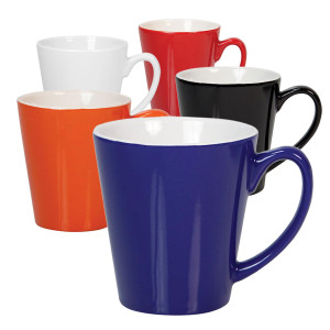 Ceramic mug conical