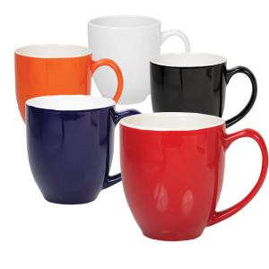 Ceramic mug curvy