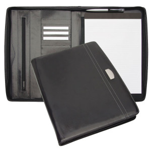 Leather foolscap