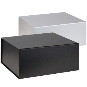 Flat pack magnetic box