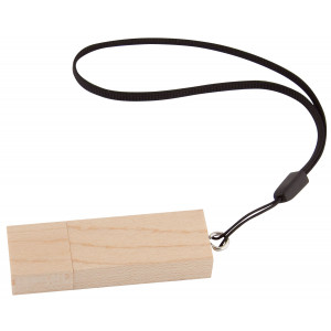 Rectangle Bamboo USB