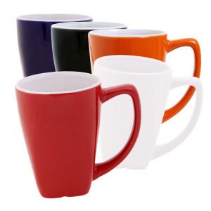 Ceramic mug square