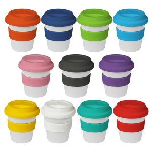 4oz/120ml Plastic Karma Kup Piccolo Silicon Lid