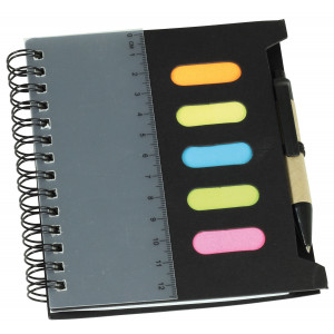 Mini Notebook with Pen & Ruler