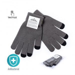 ANTIBACTERIAL TOUCHSCREEN GLOVES TENEX