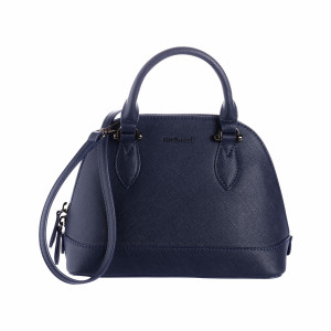 Bowling bag small Hortense Navy