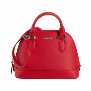Bowling bag small Hortense Bright Red