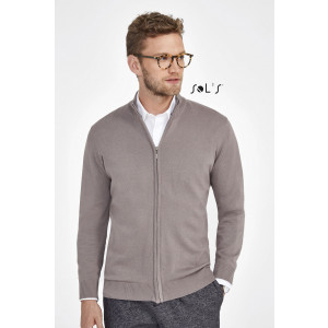 GORDON MEN'S ZIPPED CARDIGAN