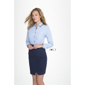 BAXTER WOMEN'S -  LONG SLEEVE FITTED SHIRT