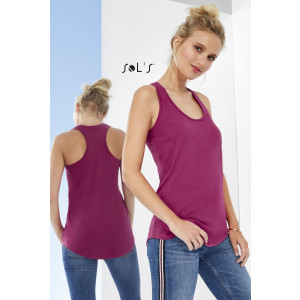 MOKA WOMEN'S RACER BACK TANK TOP