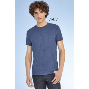 IMPERIAL FIT MEN'S ROUND NECK CLOSE FITTING T-SHIRT