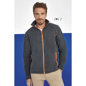 NOVA MEN'S MICRO FLEECE ZIPPED JACKET
