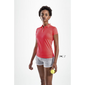 PERFORMER WOMEN'S SPORTS POLO SHIRT