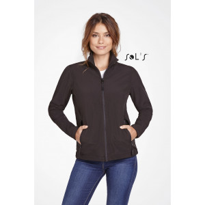 RACE WOMEN'S SOFT SHELL ZIP JACKET