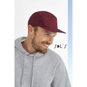 TAYLOR 5-PANEL POLKA-DOT CAP