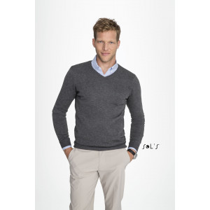 GLORY MEN'S V-NECK SWEATER