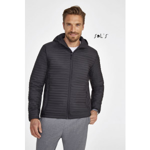 ROCKET MEN'S LIGHTWEIGHT HEAT-SEALED PADDED JACKET