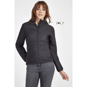 ROCKET WOMEN'S LIGHTWEIGHT HEAT-SEALED PADDED JACKET