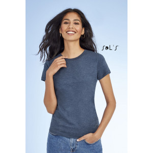 IMPERIAL FIT WOMEN WOMEN'S ROUND NECK FITTED T-SHIRT