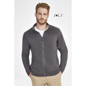 NORMAN MEN'S PLAIN FLEECE JACKET