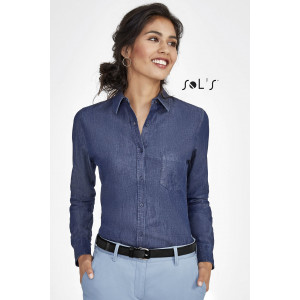 BARRY WOMEN'S DENIM SHIRT