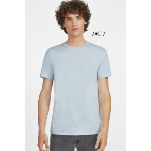 MARTIN MEN'S ROUND-NECK FITTED JERSEY T-SHIRT