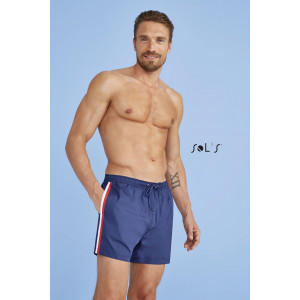 SUNRISE MEN'S THREE-COLOUR SWIM SHORTS