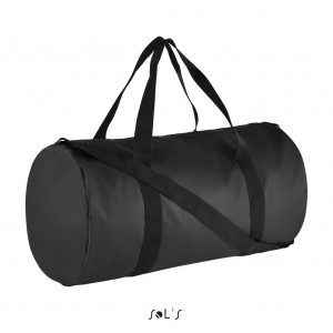 COBALT COATED CANVAS DUFFEL BAG