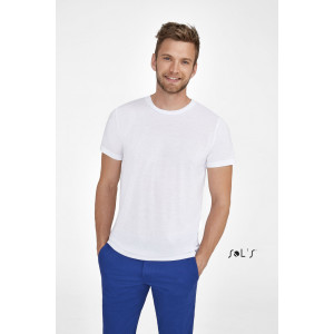 SUBLIMA UNISEX ROUND COLLAR T-SHIRT FOR SUBLIMATION
