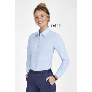 EMBASSY LONG SLEEVE OXFORD WOMEN'S SHIRT