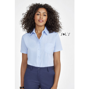 ESCAPE SHORT SLEEVE POPLIN WOMEN'S SHIRT