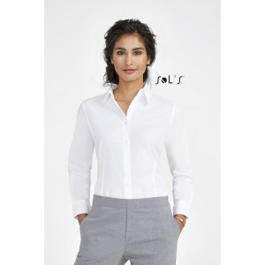 EDEN LONG SLEEVE STRETCH WOMEN'S SHIRT