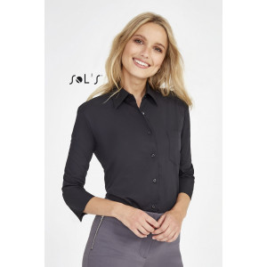 ETERNITY 3/4 SLEEVE POPLIN WOMEN'S SHIRT