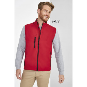 RALLYE MEN'S SLEEVELESS SOFT SHELL JACKET