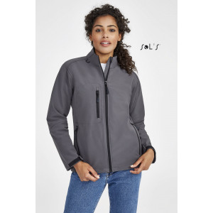 ROXY WOMEN'S SOFT SHELL ZIPPED JACKET