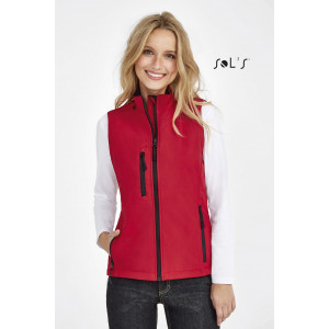 RALLYE WOMEN'S SLEEVELESS SOFT SHELL JACKET