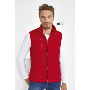 NORWAY UNISEX SLEEVELESS FLEECE CARDIGAN