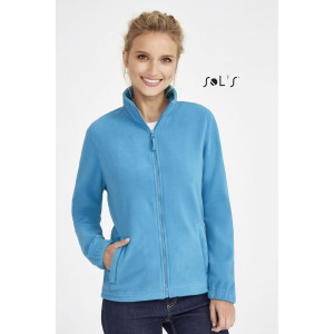 NORTH WOMEN'S ZIPPED FLEECE JACKET