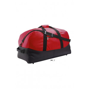 STADIUM72 TWO COLOUR 600D POLYESTER TRAVEL/SPORTS BAG