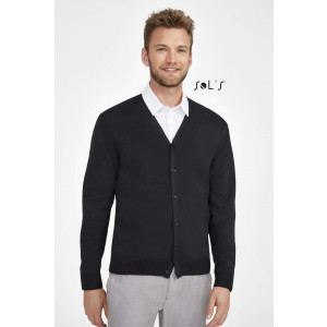GOLDEN MEN'S V-NECK KNITTED CARDIGAN